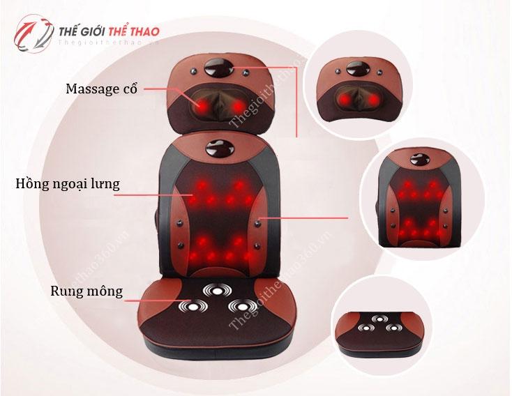 ghế massage toàn thân shika 803