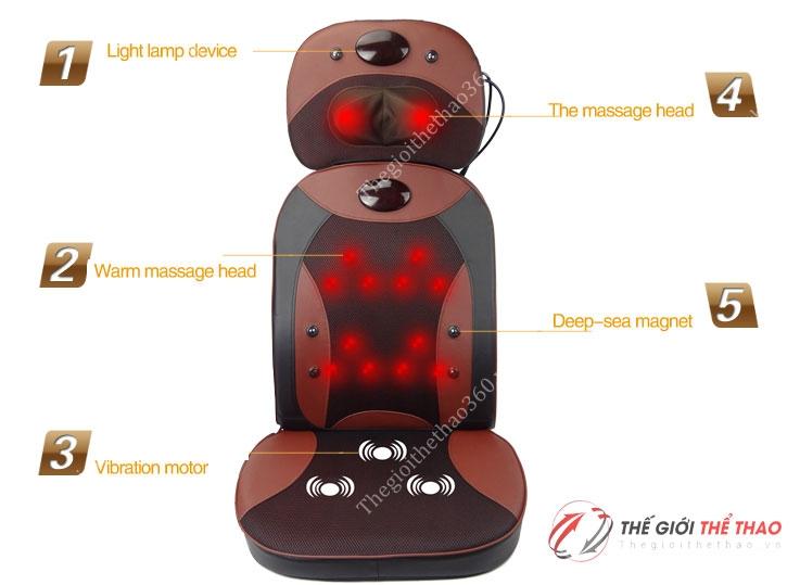 ghế massage toàn thân giá rẻ new magic