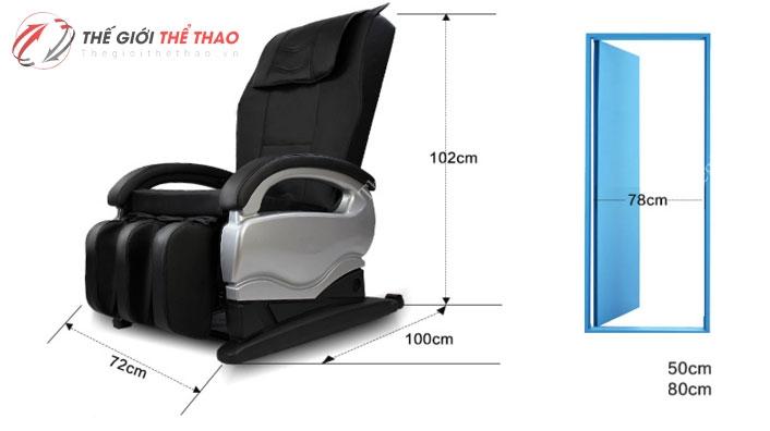 ghế matxa toàn thân giá rẻ