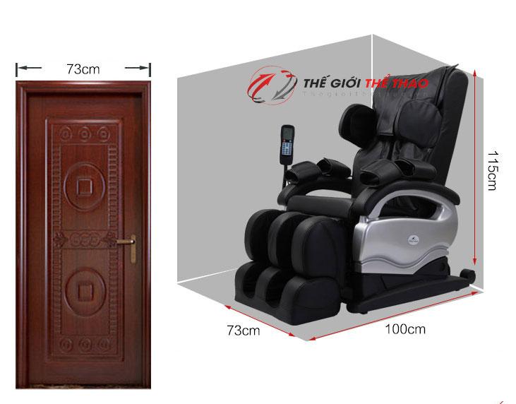 ghế matx gia chính hãng shika