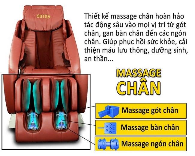 ghế massage 3d shika