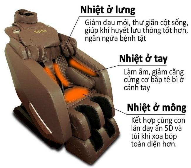 ghế massage cao cấp shika