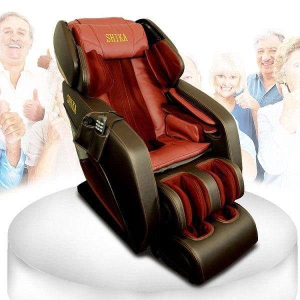 ghế massage toàn thân 3d shika