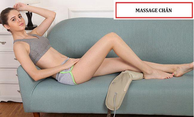 đai massage đấm cổ vai gáy shika