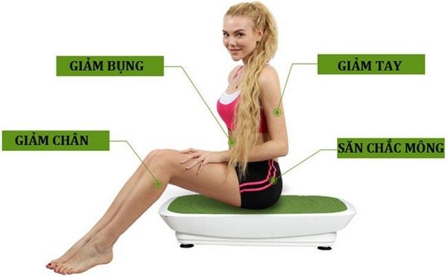 máy rung giảm béo toàn thân shika