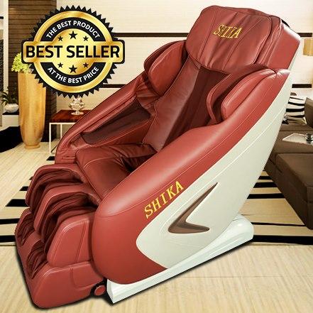 Ghế Mát Xa Toàn Thân 3D Shika SK-8916 Giá Rẻ Nhất