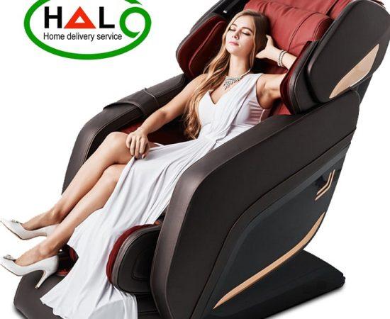 Ghế Massage Toàn thân Shika SK-8918 Đỏ Giá Tốt