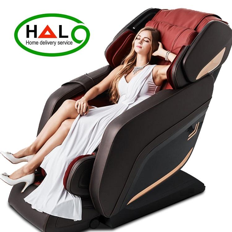 Ghế Massage Toàn thân Shika SK-8918 Đỏ Chất Lượng Tốt