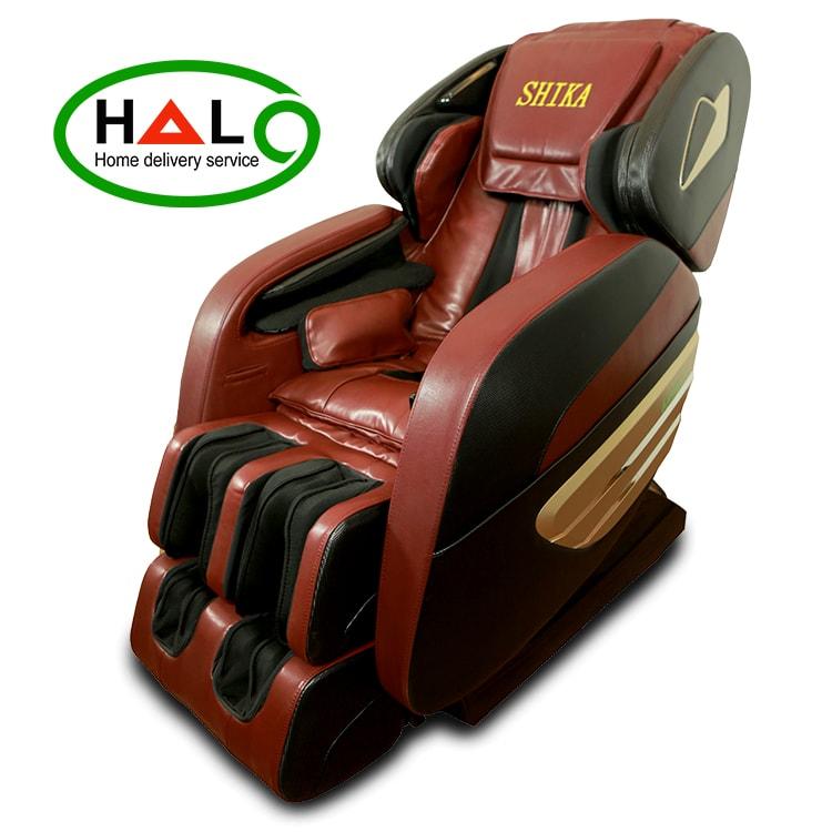 Ghế matxa toàn thân 3D Shika SK8906 chính hãng