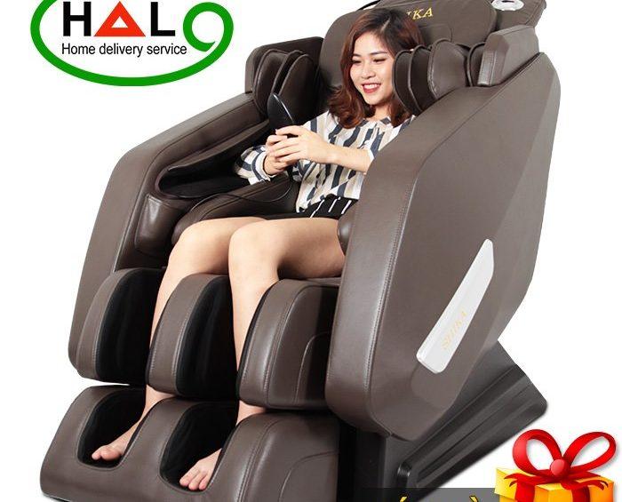 Ghế massage cao cấp 5D Shika SK-116 Pro Cao Cấp